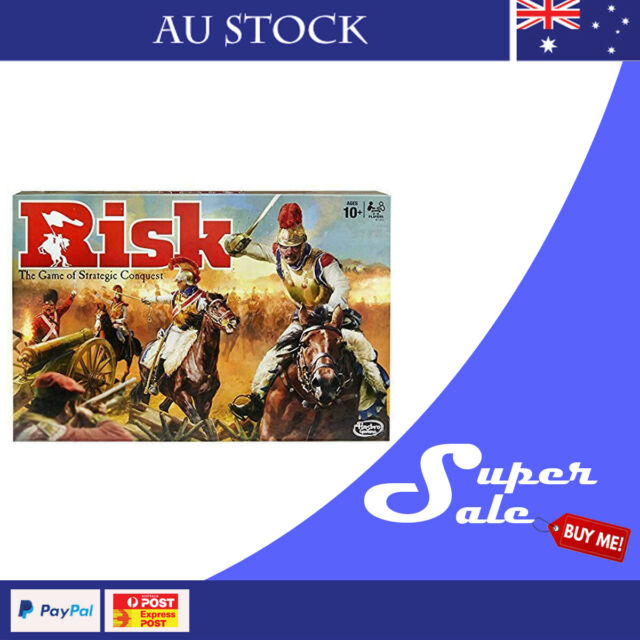 HASBRO Risk Strategic Board Game Au Stock