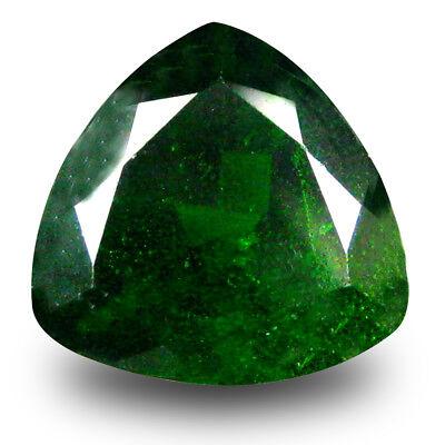 GüNstiger Verkauf 2.72 Karat Fantastisch Trillion Form (9 X 9 Mm) Green Chrom Diopsid