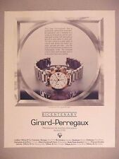 Girard-Perregaux Bicentenary Watch PRINT AD - 1991 ~~ wristwatch