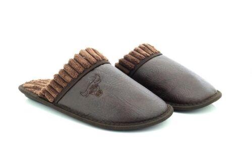 Motif Chaussures Pantoufles Motif Similicuir d'intérieur Accueil Casual Mens Bull q1pX7Wwaqx