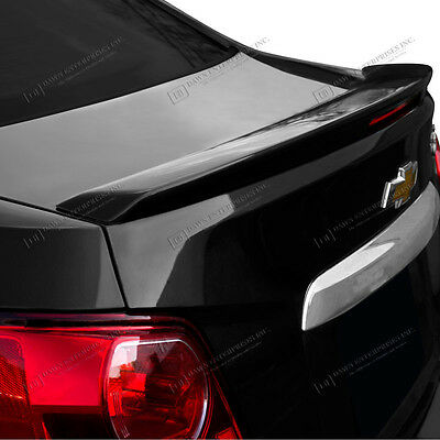 Spoiler UNPAINTED Wing Factory Style For: CHEVROLET SONIC 2012-2017