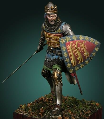 John of Eltham Wars of Scottish Independence 75mm Tin Painted Soldier   Museum