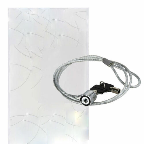 Security Key Lock Steel Cable Anti-theft Chain for Laptop Computer Notebook Key
