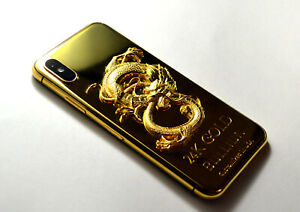 Details about 24K Gold Plated dragon over iphone XS Max - 256GB (Unlocked)  super luxury