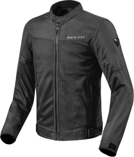 Motorcycle Textil Jacket REV'IT! Eclipse / Black - size L