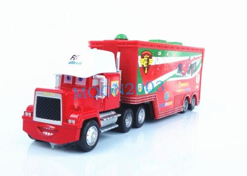 Pixar Cars1 2 3 No.86 95 43 King//Chick Hicks//Francesco//McQueen HAULER Truck toy