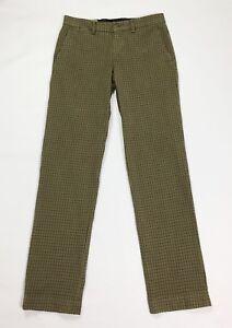Mason-039-s-new-york-pantalone-uomo-usato-quadri-w30-tg-44-slim-boyfriend-T3564
