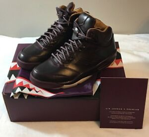 9960ea31953ca4 Air Jordan 5 V Retro Premium Bordeaux Wine Pinnacle Men s 881432-612 ...