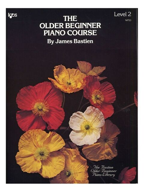 Older Beginner Piano Course Level 2 Learn to Play Present MUSIC BOOK Piano