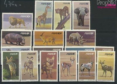 Begeistert Namibia - Südwestafrika 476x-492x (kompl.ausg.) Postfrisch 1980 Wildl (9253132 Ausreichende Versorgung
