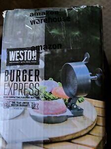 Weston non stick single hamburger press