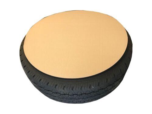 48 Reifenpappen Reifenkartons Ø600mm Reifenabdeckungen Felgenkartons Pappe