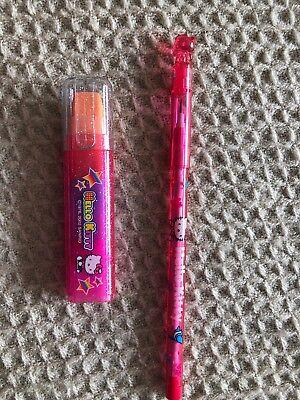 Sanrio Hello Kitty Eraser Stick Pencil Lead 2002 New Lot Rare Vintage