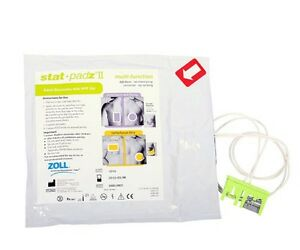 NEW-Zoll-Stat-Padz-II-Multi-Function-Adult-AED-Defibrillation-Pads-AED-Pro-Plus
