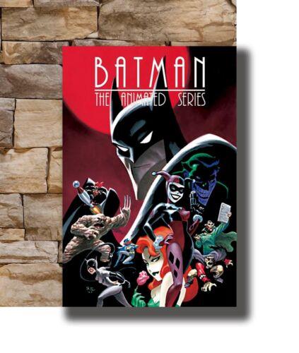 Hot BATMAN DC Comics Marvel Avengers Dark Knight  Art Poster 12x18 24x36 T-5042