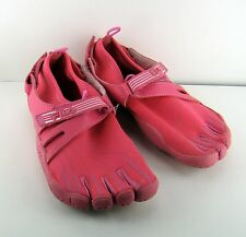 Pink Fila Skele Toes Skele-Toes Five Finger Womens Shoes Sz 4 Adjustable Straps