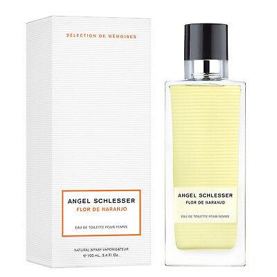 FLOR DE NARANJO by ANGEL SCHLESSER Colonia Perfume EDT 100 mL Mujer Woman | eBay