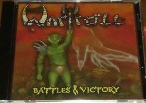 Wartroll Battles Victory Cd Folk Metal Hyboria The