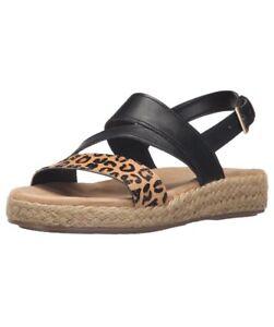 c148ec6008c Aerosoles Womens Globetrotter Espadrille Wedge Sandal Size 8 Cheetah ...