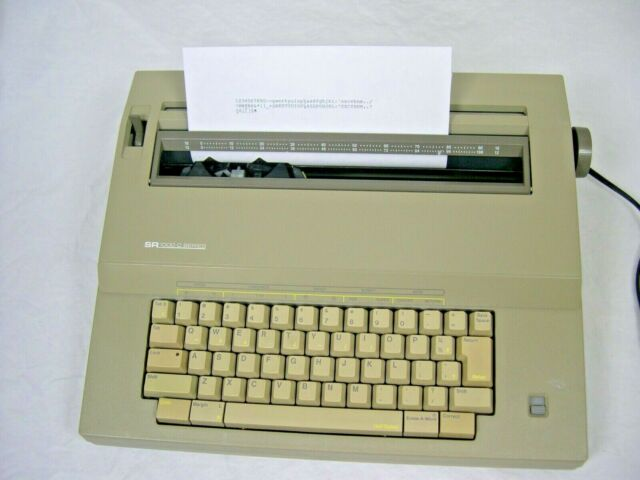 Sears SR 1000 The Electronic I Typewriter Ribbon Correction Spool