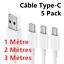 miniatuur 1 - Cavo Tipo C USB Per Samsung A20e A21s A51 S20 S10 S9 S8 Huawei P30 Lite P20