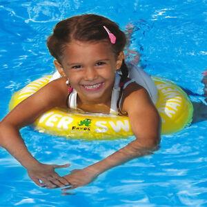 Freds Swimtrainer Baby rot Classic für die richtige Schwimmbewegung NEU OVP