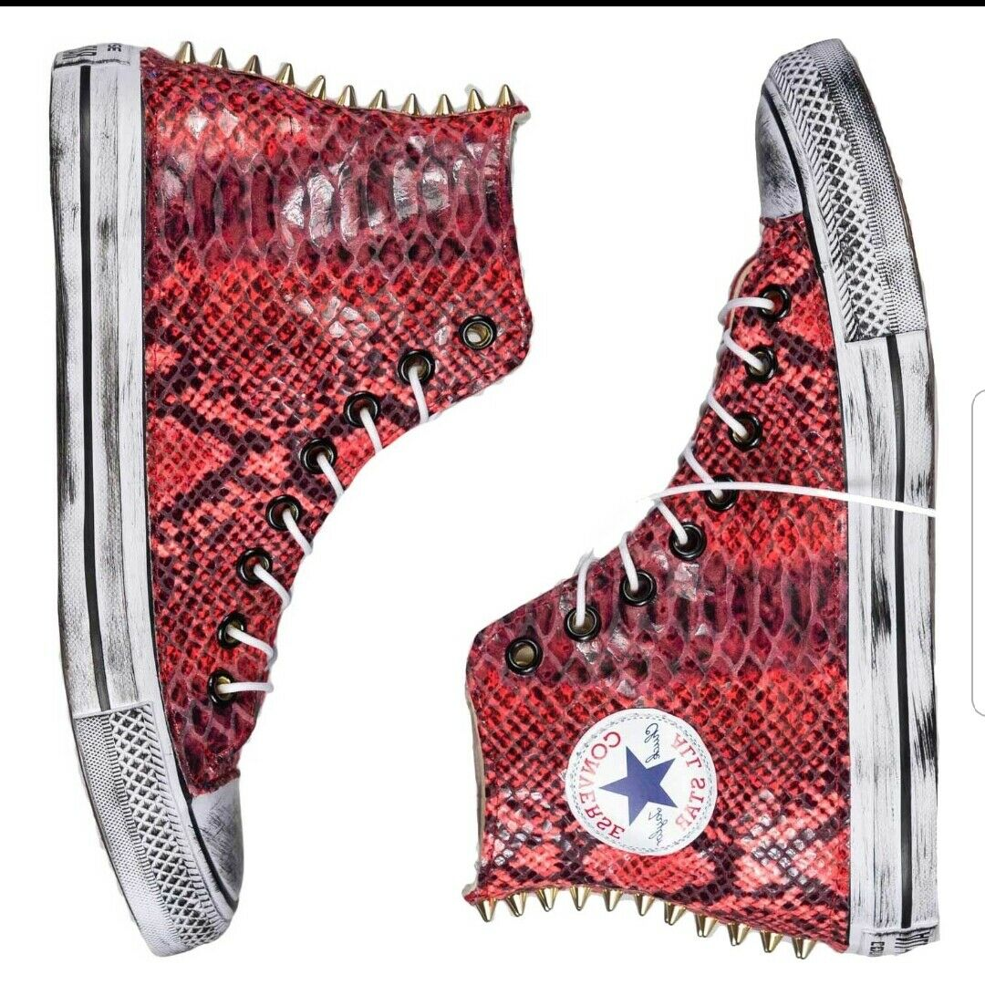 Converse all Star with Snake and Stud