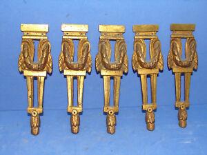 5 jolis anciens décor en bronze XuWLy6w3-07192302-279604212