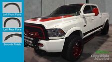 FENDER FLARES Extension Style  2010-2016 DODGE RAM 2500 3500 PAINTABLE Finish