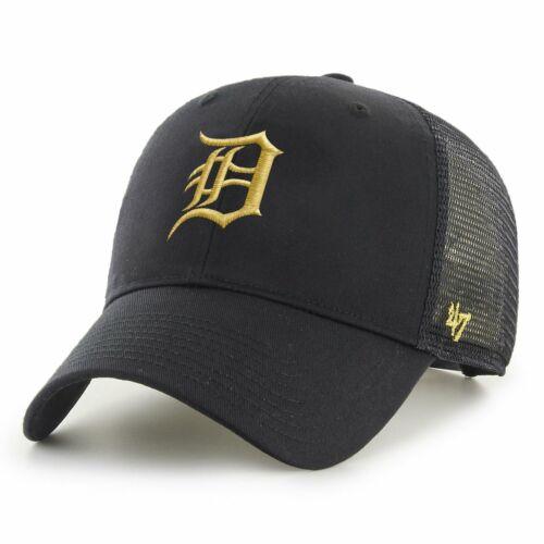 47 Brand Trucker Cap BRANSON Metallic Detroit Tigers