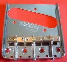Guitar Parts WILKINSON Bridge - WTB Telecaster - Brass Saddle - CHROME