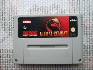Jeu-Super-Nintendo-SNES-Game-Mortal-kombat-PAL-Fah-original