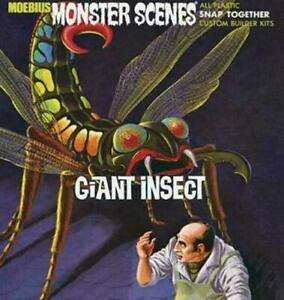 2008 discontinued MOEBIUS MONSTER SCENES 643 1/13 Giant Insect model kit new