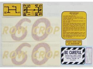 Complete Decal Set//Kit for Oliver 77 Row Crop Tractor Die-Cut Vinyl Transfers