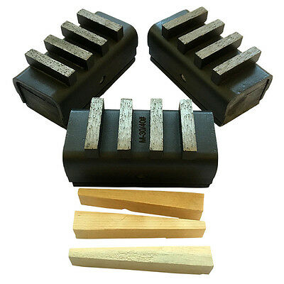 3PK Dyma-Sets EDCO Diamond Grinding Blocks for Concrete Grinding Grinder #40//50