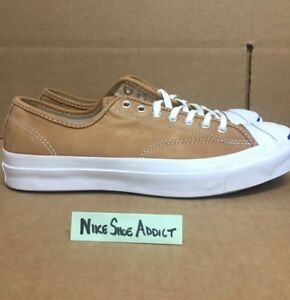 b78397ca604c66 Converse JP Jack Purcell Signature OX Low Luggage Tan White 151448C ...