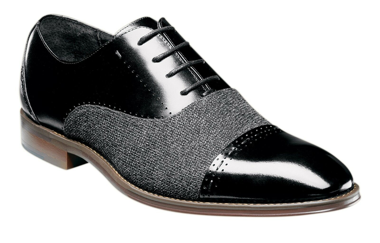 Stacy Adams Barrington Herren Oxford - Schwarz