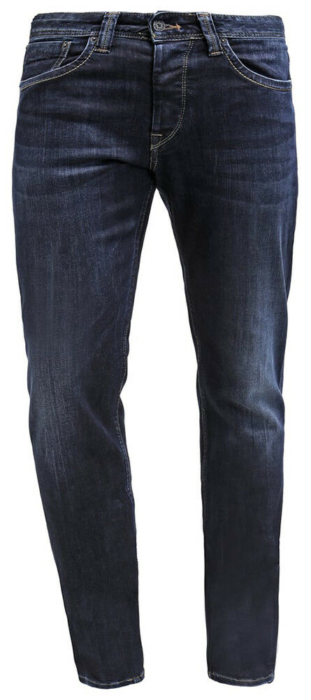 Pepe Jeans Regular Fit Fit Fit Jeans CASH Used Denim Blau Dunkelblau Slim Leg Style Cool d8e49d