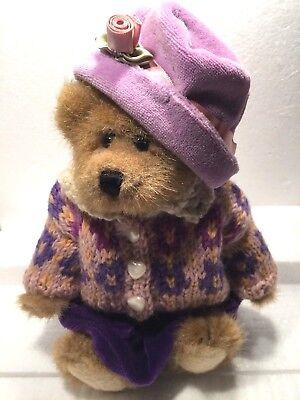 "Boyds Bears /& Friends TYLER 12/"" Plush Stuffed Bear 1996"