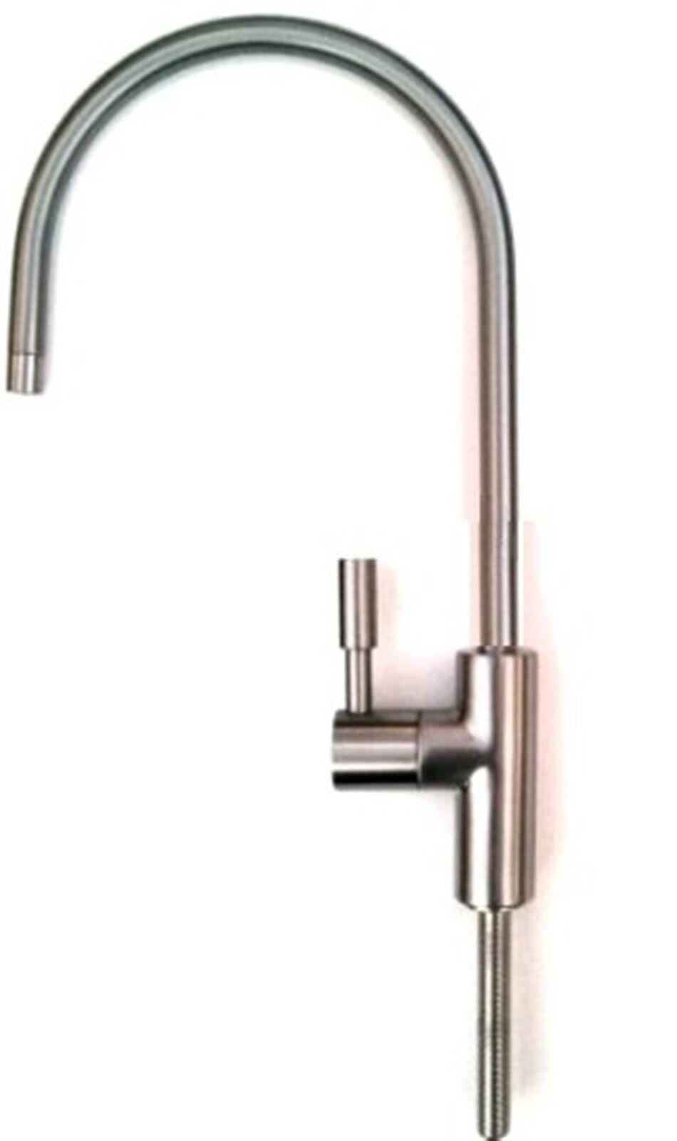 Grifo Para Agua De Beber, Palanca Sencilla, Moderno Nikel Satinado Lavado, Baños