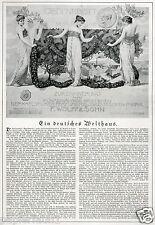 Wolff Karlsruhe Reklame 1918 Seife Parfum Ad Soap Jugendstil Art Nouveau perfume