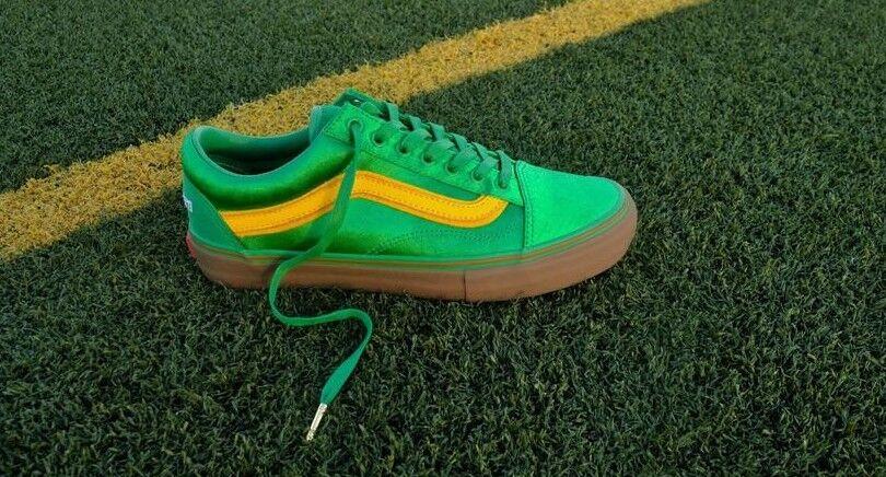Vans Vault X Suela Classics Skool LX  Lucky 13  Old verde