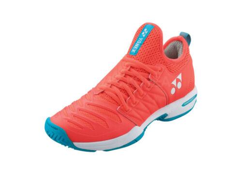 Details about  /Yonex Power Cushion FUSIONREV 3 Women/'s Tennis Shoes Coral Racquet All Court