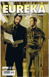 EUREKA-3-B-NM-TV-show-Sci-Fi-2008-Woodward-Cosby-Barreto-more-in-store