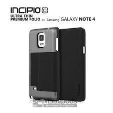 Incipio-Highland-Ultra-Thin-Premium-Folio-Case-For-Samsung-Galaxy-Note-4-Silver