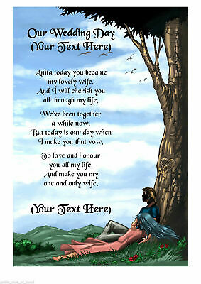 Personalised A4 A5 Dog Poem Scroll Gift Various Designs