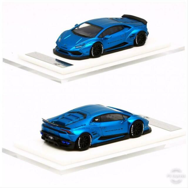 1/64 HURACAN LB 610 Fluorescent Mett Blue (Resin) LIBERTY WALK LB PERFORMANCE