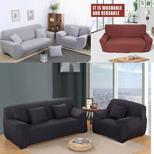 1 2 3 Seater High Elasticity Sofa Covers Full Cover Couch Protector