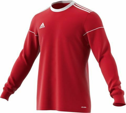 15 x ADIDAS SQUADRA JERSEY POWER RED LONG SLEEVES