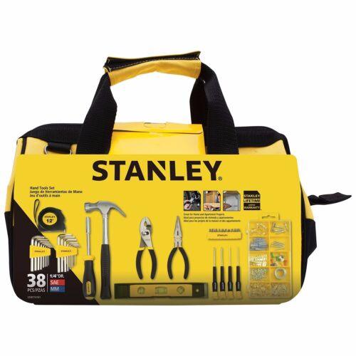 Stanley 38-Piece Mixed  Garage Home Mechanic Tool Set
